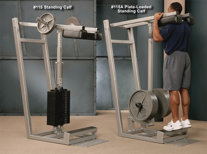 Plate-Loaded Standing Calf #115A
