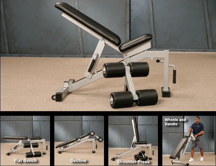 Multi-Angle Bench #14