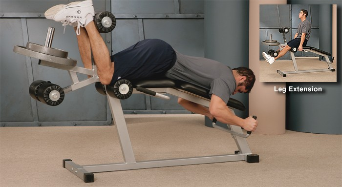 Plate-Loaded Leg Extension / Curl #21