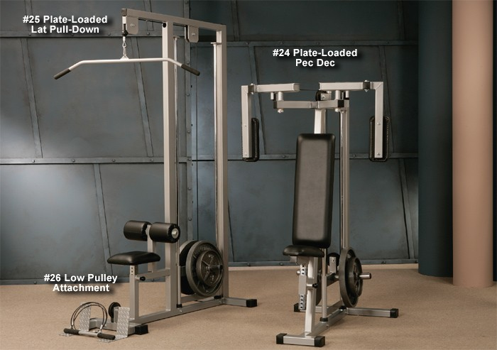 Plate-Loaded Lat Pull-Down #25