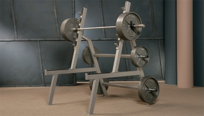 Angled Squat Rack #42A
