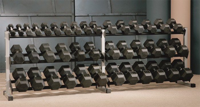 10 Foot 3-Tier Dumbbell Rack #49