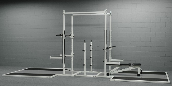 Double Sided Half-Rack w/ Platform # 97B
