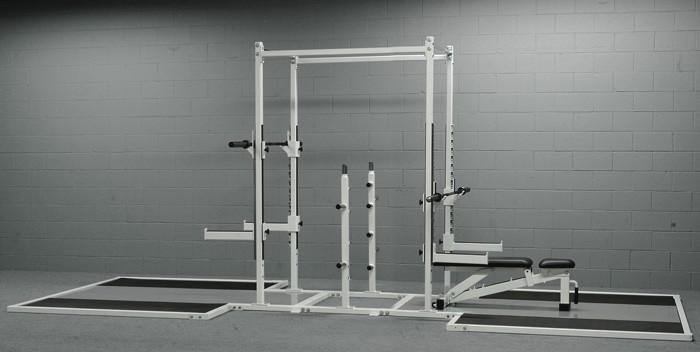 Double Sided Half-Rack w/ Platform # 97B