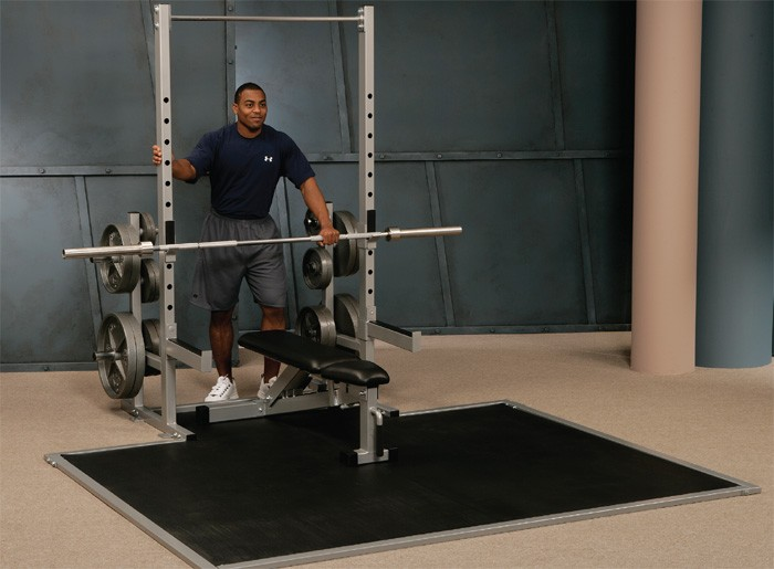 Half-Rack w/ Olympic Platform #98