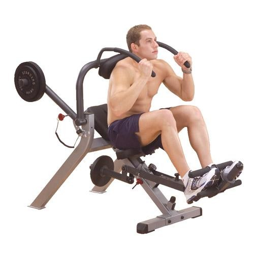 Semi-Recumbant Ab Bench