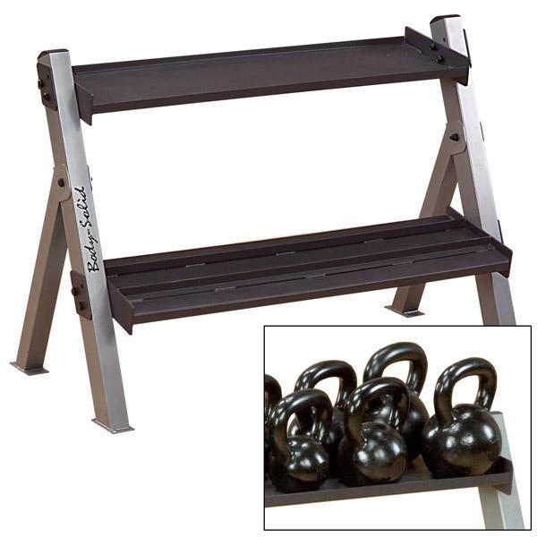 Dumbbell/Kettlebell Rack