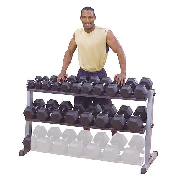2-Tier Horizontal Dumbbell Rack