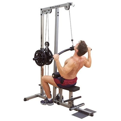 Plate Loaded Lat Machine