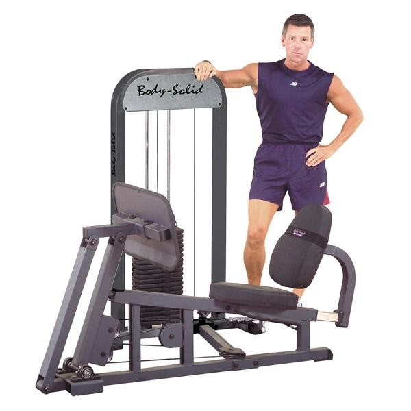 Leg Press with Stack