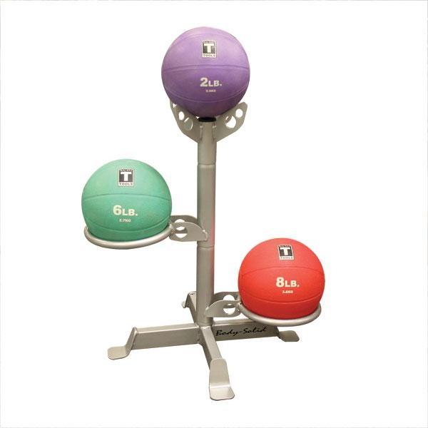 Body-Solid Tools Medicine Ball Rack