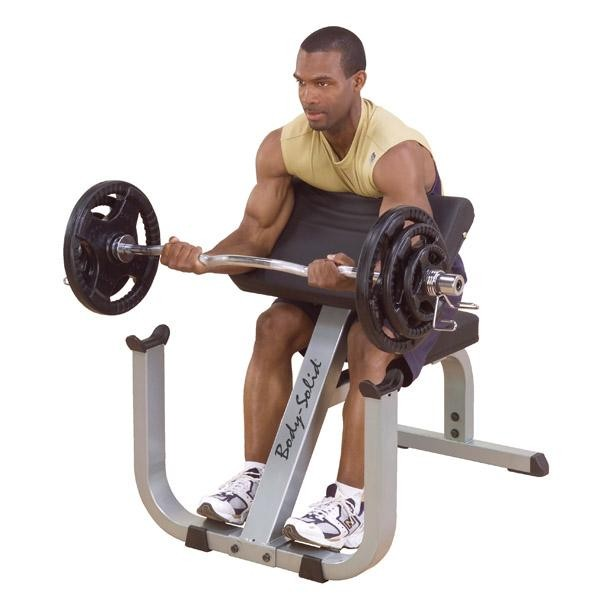 "2""x3"" Preacher Curl Machine"