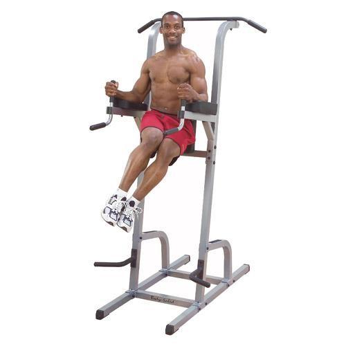 Vertical Knee Raise, Dip & Pull Station