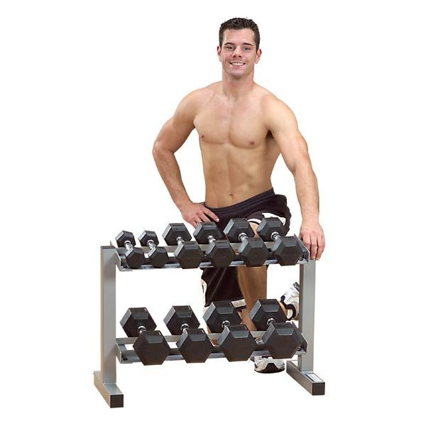 Powerline 2-TIer Dumbbell Rack