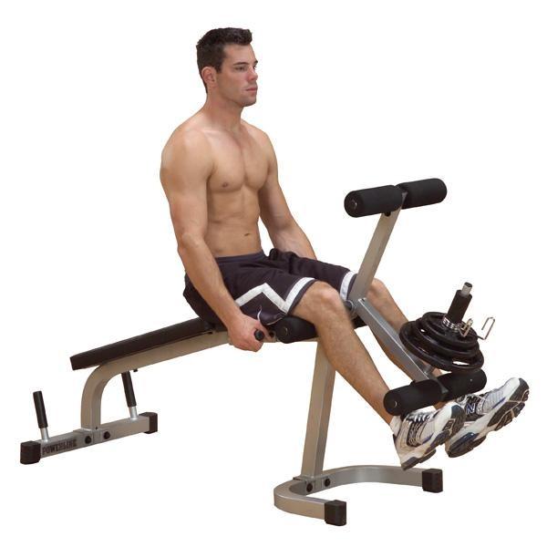 Powerline Leg Extension/Curl Machine