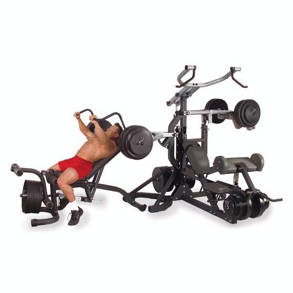 Free Weight Leverage Gym Package
