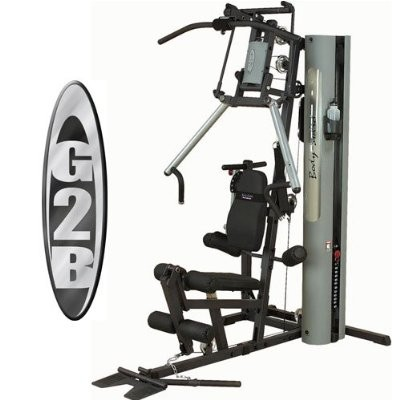 Body Solid G2B Bi-Angular Weight Stack Home Gym Machine