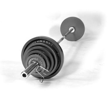 USA Spots Economy 200 lb. Olympic Weight Set