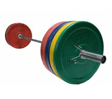 VTX Colored Bumper Plate Weight Set