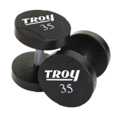 Troy Urethane Round Head dumbbells